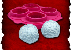 Brain-Freeze Ice Cube Molds