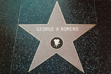 George A Romero - Hollywood Star Campaign