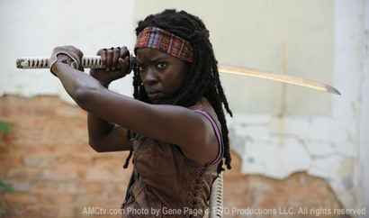 The Walking Dead - First Photo of Michonne