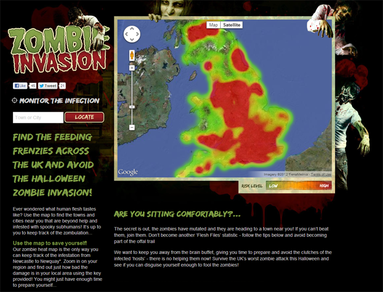Zombie Invasion - UK