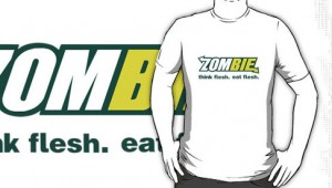 Zombie Think Flesh Eat Flesh