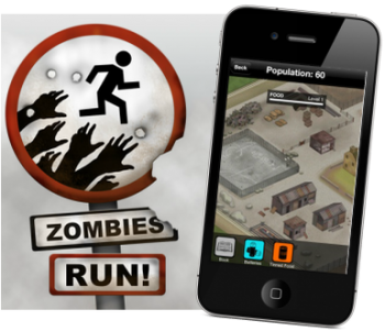 Zombies, Run! - Fitness App