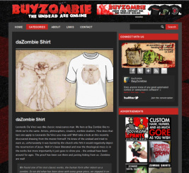 daZombie t shirts on Buyzombie.com