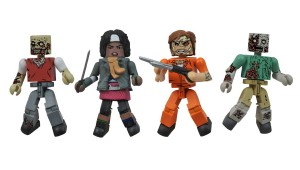 Diamond Select Toys Walking Dead Minimates Prison Outbreak