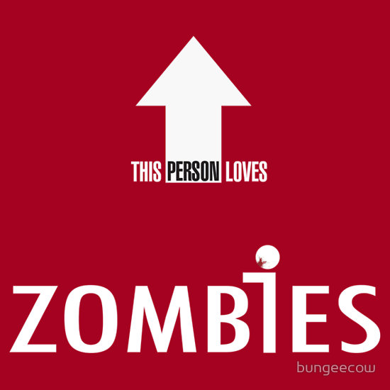 This Person Loves Zombies Big