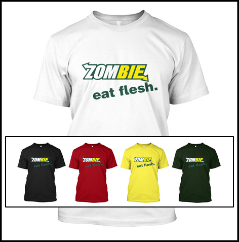eat flesh 5 colors